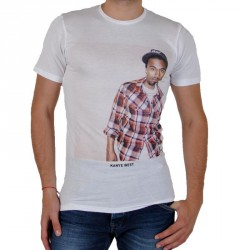 Tee Shirt Eleven Paris Kanye West TS Blanc