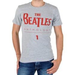 Tee Shirt Eleven Paris Beatles Logo TS Gris Chiné