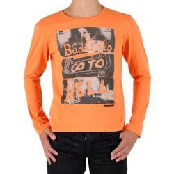 Tee Shirt Japan Rags Enfant Manches Longues Josef Juicy Orange
