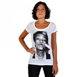 Tee Shirt Eleven Paris Wizka W Wiz Khalifa Blanc