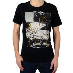 Tee Shirt Japan Rags Poireau Noir
