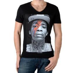 Tee Shirt Eleven Paris Kalifa M Wiz Khalifa Noir