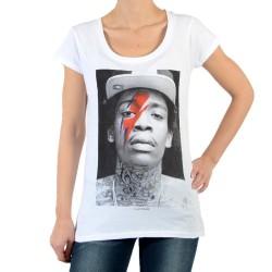 Tee Shirt Eleven Paris Kalifa W Eclair Wiz Khalifa Blanc