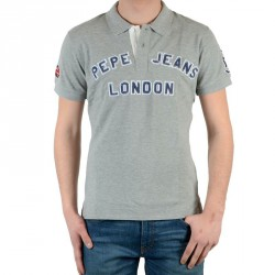 Polo Pepe Jeans New Polo Gris