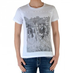 Tee Shirt Little Eleven Paris Garçon Little Jeatles TS Blanc