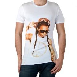 Tee Shirt Eleven Paris Wayn Lil Wayne Blanc