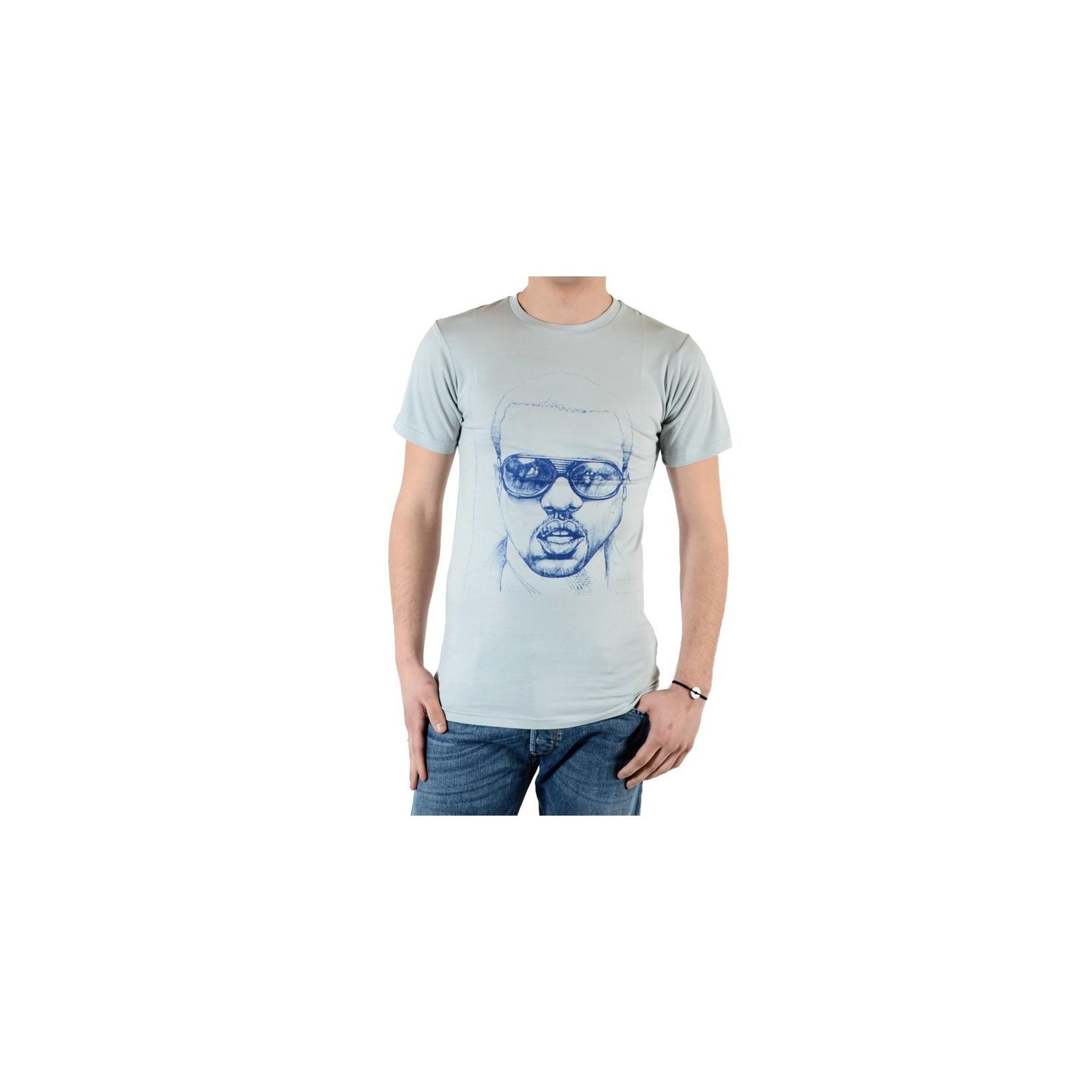 Tee Shirt Eleven Paris Kane Kanye West Gris Silver Grey