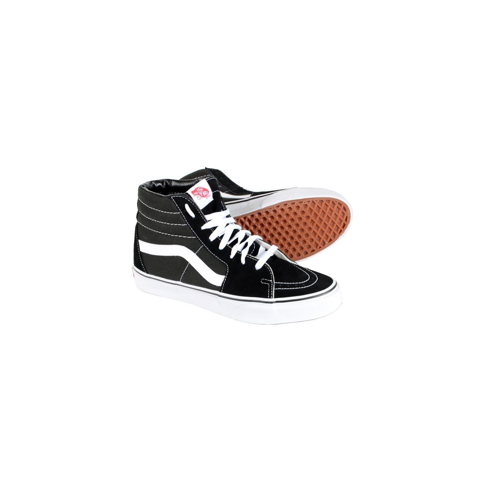 Baskets Vans Montantes SK8-HI Noir / Blanc