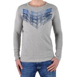 T-Shirt Energie Long Coffey I07280 Gris / Bleu