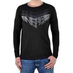 T-Shirt Energie Long Coffey G06000 Noir / Gris