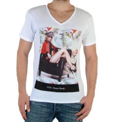 Tee Shirt Eleven Paris N°33 M Blanc