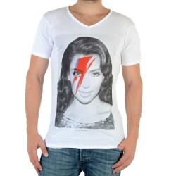 Tee Shirt Eleven Paris Kimono M Kim Kardashian Blanc