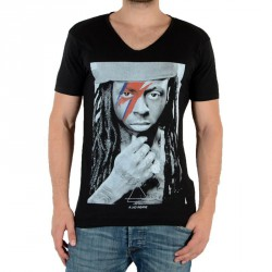Tee Shirt Eleven Paris Kaway M Lil Wayne Noir