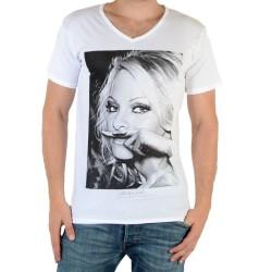 Tee Shirt Eleven Paris Pamy M Pamela Anderson Blanc