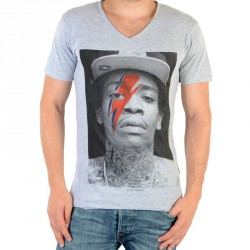 Tee Shirt Eleven Paris Kalifa M Wiz Khalifa Gris