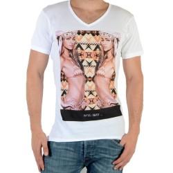 Tee Shirt Eleven Paris N°35 M Blanc
