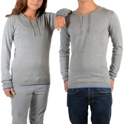 Pull Little Eleven Paris Knit HD Mixte (Garçon / Fille) Gris