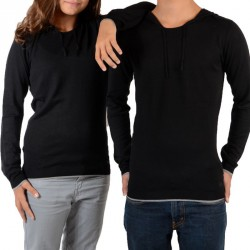 Pull Little Eleven Paris Knit HD Mixte (Garçon / Fille) Noir