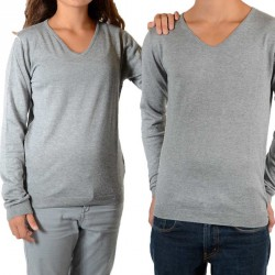 Pull Little Eleven Paris Joke Mixte (Garçon / Fille) Gris