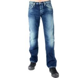 Jeans Pepe Jeans Hoxton PM200014L13 Bleu Foncé Délavé
