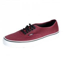 Baskets Vans Authentic Rouge Port Royal / Noir