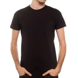 T-Shirt New OutWear M002001 Col Rond Noir