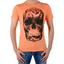 Tee Shirt Japan Rags Snake Orange