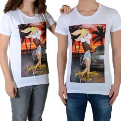 Tee Shirt Little Eleven Paris Wimp SS Mixte (garçon / fille) Blanc
