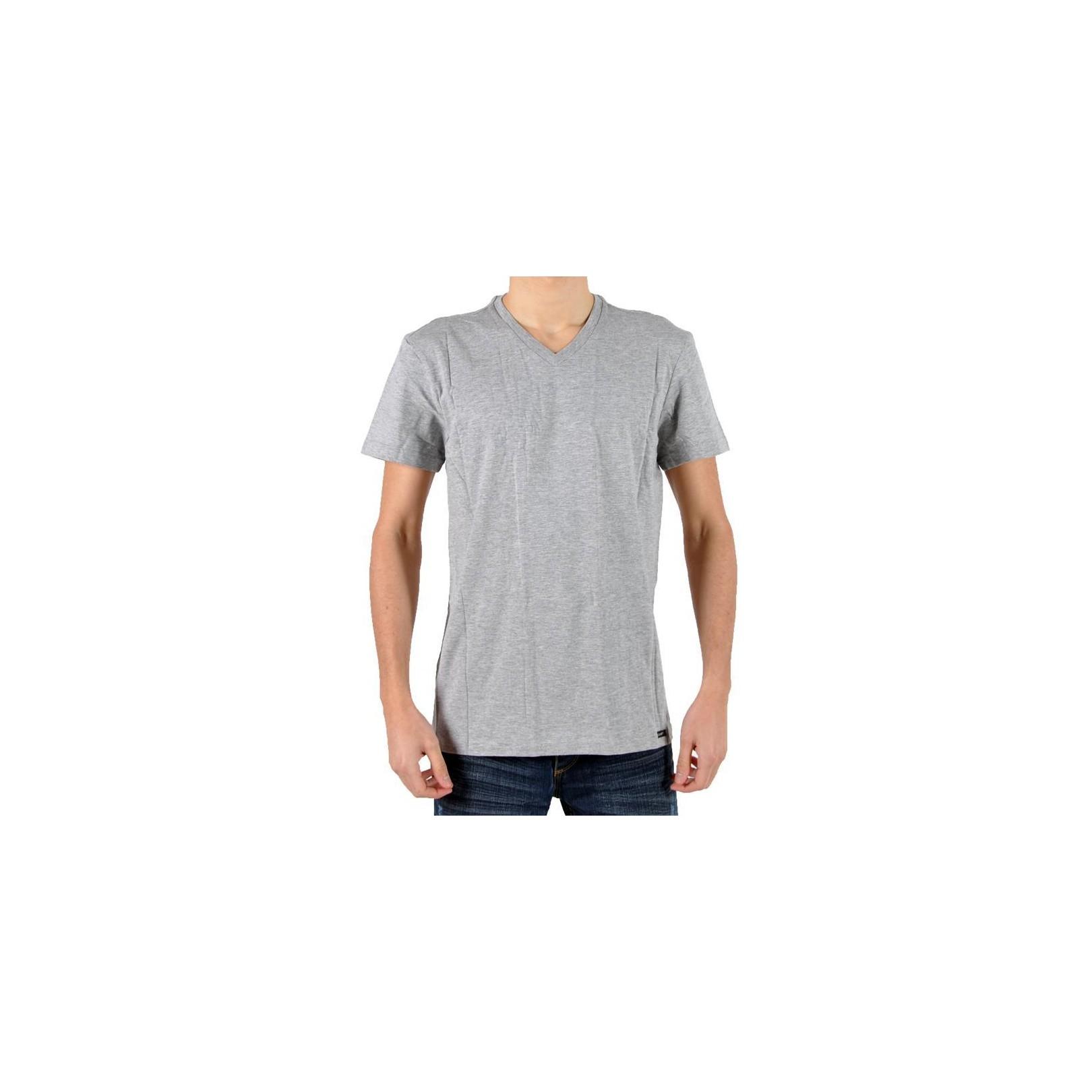 Pack 2 T-Shirts Lee SS V Twin Grey Mel L664BC37