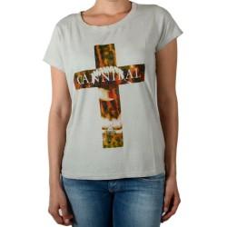 Tee Shirt Eleven Paris Damical Deep Dye Wind Gris