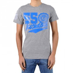 T-Shirt Be and Be Touchdown 55 Gris / Bic