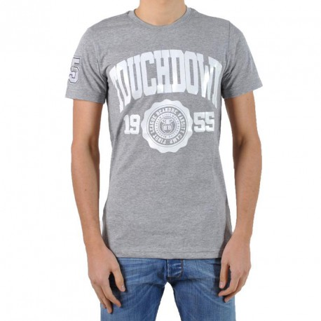 T-Shirt be and Be Touchdown 1955 Gris / Blanc