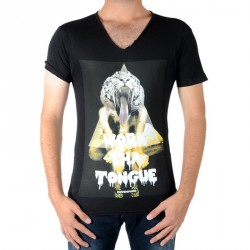 Tee Shirt Eleven Paris Anice Noir