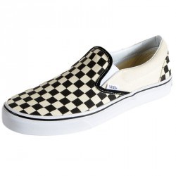 Basket Vans Classic Slip-On Blk&Wht Checkerboard