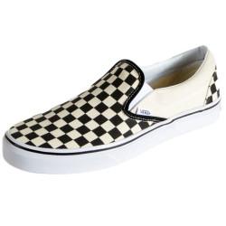 Basket Vans Classic Slip-On Blk&Wht Checkerboard