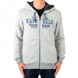 Sweat Zippé Kaporal Enfant Loris Gris