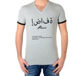 Tee Shirt Hechbone Paris Le Caire Gris