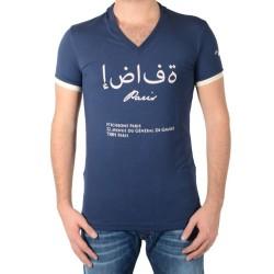 Tee Shirt Hechbone Paris Le Mascate Bleu