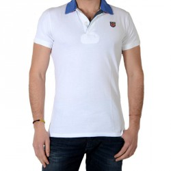 Polo Pepe Jeans Esteban PM540411 Blanc 800