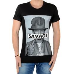 Tee Shirt Eleven Paris Savrel M Noir