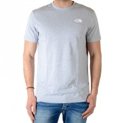 Tee Shirt The North Face Redbox Gris Heather