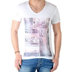Tee Shirt Deeluxe Apple TS Blanc S15142