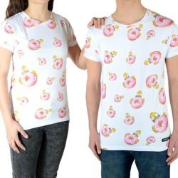Tee Shirt Little Eleven Paris Homerall SS Mixte (Garçon / Fille) Blanc