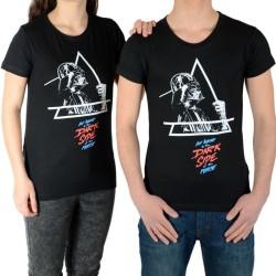 Tee Shirt Little Eleven Paris Darkside SS Mixte (Garçon / Fille) Noir
