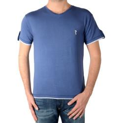 Tee Shirt Marion Roth T32 Bleu Indigo