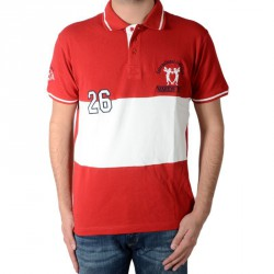 Polo Marion Roth P5 Rouge / Ecru