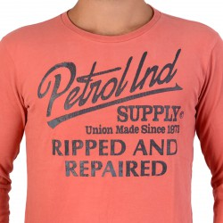 Tee Shirt Petrol Industries TLR726 382 Faded Red