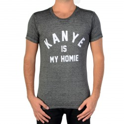 Tee Shirt Eleven Paris Fanye Burnout Jersey Black