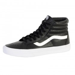 Chaussure Vans Sk8-Hi Reissue (Premium Leather) Black