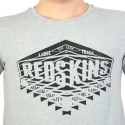 T-shirt Redskins Warrin Calder Grey Chine